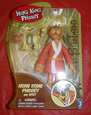 "Hanna Barbera Hong Kong Phooey 6""  Action Figure Toy Ages 4+ New in Box"