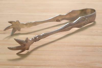 Vintage Sterling Silver Sugar Cube Tongs ~ 34.2 grams ~ 17-C1285
