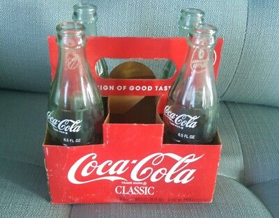 Coca Cola Cardboars Case without Glass Bottles