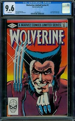 Wolverine Limited Series 1 CGC 9.6 - White Pages - No Reserve Auction