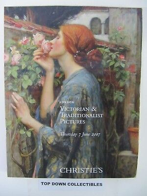 Christie's  Victorian & Traditionalist Pictures Catalog Auction, London 2007