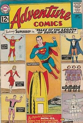 Adventure Comics 300 strict 1962 FN Mid-Grade 1st Tales of the Legion 40% off