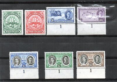 TURKS&CAICOS IS. 1948 KGV1  aet/7   SEPARATION from Bahamas   Cat £14.50  MNH