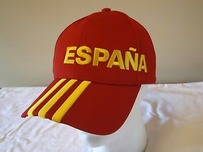 Spain Official Licensed Adults Hat Euro 2016 New