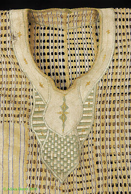 Hausa  Boubou Tunic and Pants Gold and Violet Nigeria African Art