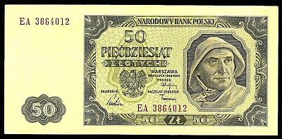 50 Zlotych From Poland 1948 Unc