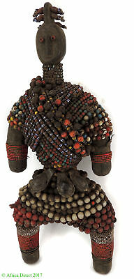 Namchi Namji Fertility Doll Beaded Cameroon African Art