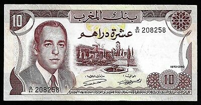 10 Dirhams From Morocco  Unc