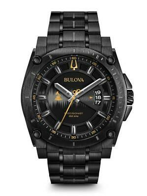 Bulova Men's Grammy Precisionist  Quartz Stainless Steel Casual Watch 98B295