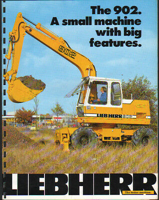 jcb 812 tracked hydraulic excavator brochure leaflet 7 00 rh picclick co uk