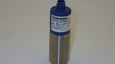 Microsonic Mic+25/d/tc S=30-250Mm 9-30Vdc 80Ma 200Ma Ultrasonic Sensor