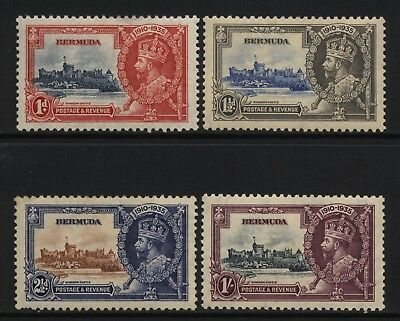 Bermuda 1935 KGV Silver Jubilee Set Unused Mounted
