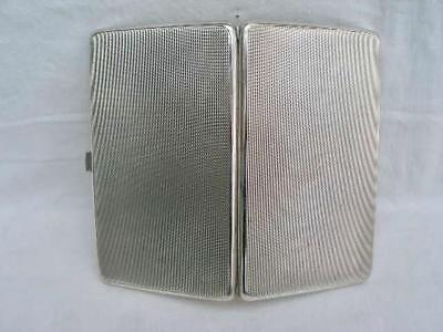 Superb Sterling Silver Cigarette Case By S Blanckensee & Son Ltd Date 1932.