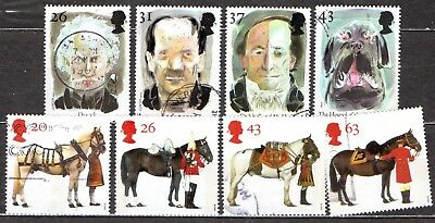 QEII 1997 Queens Horses & Horror Stories used sets (333)