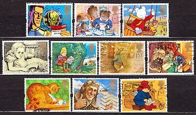 QEII 1994 Greetings stamps Messages used set (j229)