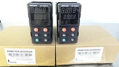 R147365 Lot (2) Watlow PM8C1CK-2CCKAAA009612 Digital Temperature Controller