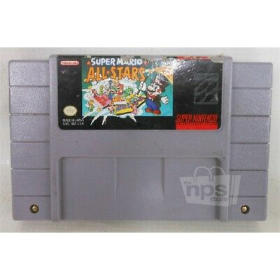 Super Mario: All Stars Video Game for Super Nintendo 1991 AS-IS NO RETURNS