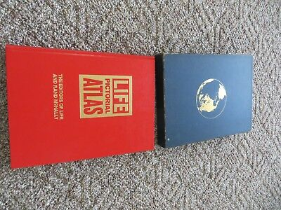 Life Pictorial Of The World Atlas,the Editors Of Life And Rand Mcnally Book
