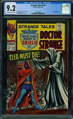 Strange Tales 154 CGC 9.2 - OW/W Pages
