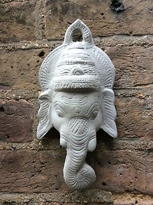 Beautifully Detailed Unique Lord Ganesh Stone Wall Plaque (From Sius)