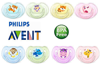 Philips Avent Classic Baby Soother Dummy Nipple 0-6m / 6-18m 2x Pacifier