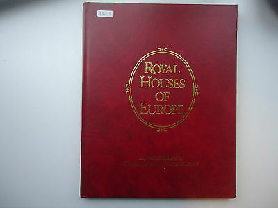 Royal Houses of Europe 1978 10 Covers In Book