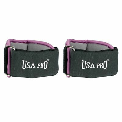 USA Pro Womens Ladies Ankle and Wrist Training Sports Weights Accessories