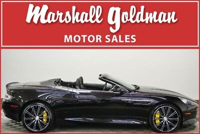 2014 Aston Martin DB9 Volante Convertible 2-Door 2014 Aston Martin DB9 in Storm Black over Obsidian black only 8100 miles