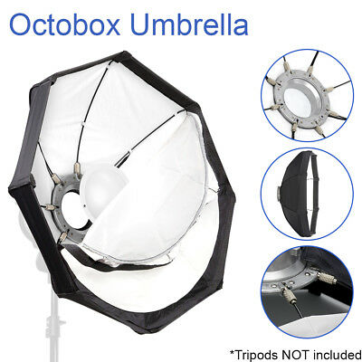 "Photo Studio 22"" Octagonal Softbox Umbrella Reflector w/ Bowens Speedring Mount"
