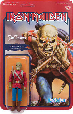 Super7 - ReAction - Iron Maiden - ReAction Figure - The Trooper