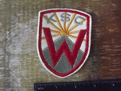 Western Kentucky State College ROTC Patch