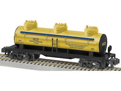 Lionel American Flyer #27 Track Cleaning Fluid Three-Dome Tank Car # 6-48440