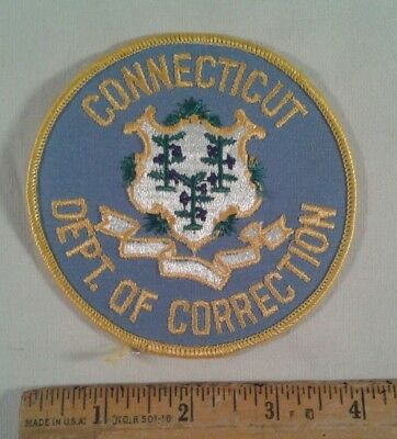 Connecticut Police Sheriff Patch Department of Corrections