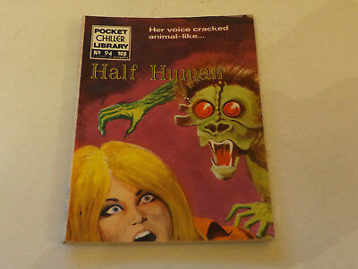 POCKET CHILLER PICTURE LIBRARY,NO 94,1975 ISSUE,V GOOD FOR AGE,43 yrs old,RARE
