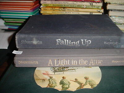 Shel Silverstein A Light in the Attic and Falling Up Books
