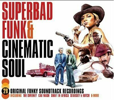 Various Artists - Superbad Funk And Cinematic Soul - Various Artists CD 1YVG The