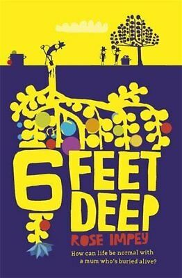 Six Feet Deep (Red Apple) by Impey, Rose Paperback Book The Cheap Fast Free Post