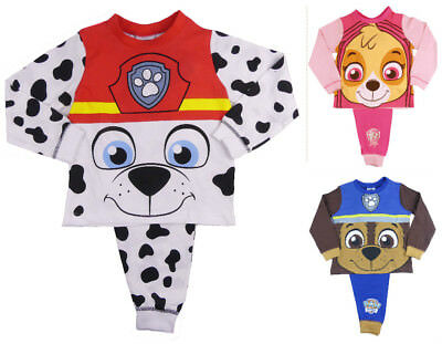 Boys Paw Patrol Pyjamas Chase 18-24M To 5-6Y Clearance Batgain