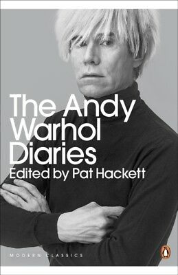 The Andy Warhol Diaries Edited by Pat Hackett (Penguin Modern Cla...