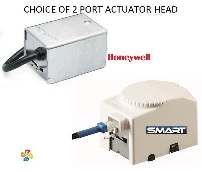 Honeywell & Smart Actuator Head For 2 Port Zone Valves Replacement Heating Part