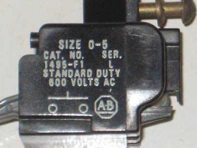 Allen Bradley 1495-F1 Ser. L  Auxiliary Contact (A1)