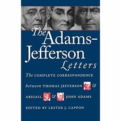 Jefferson Adams' Letters - Paperback NEW Adams, J. 1988-09-30