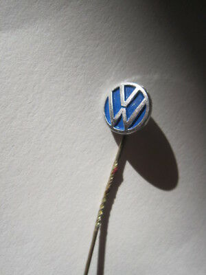 Vw Lapel Pin Silver Coloured With Vw Logo On 40 Years Old