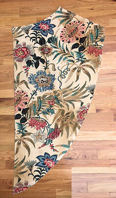 Antique Important 19th Century French Exotic Floral Fabric ( 2022 )