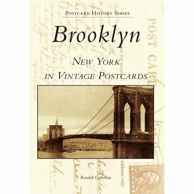 Brooklyn: New York in Vintage Postcards (Postcard Histo - Paperback NEW Randall