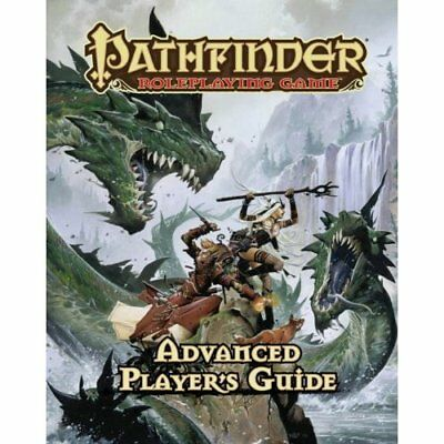Pathfinder Roleplaying Game: Advanced Player's Guide - Hardcover NEW Bulmahn, Ja