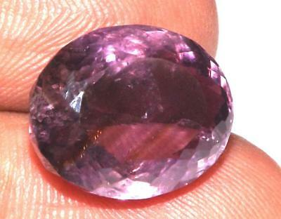 9.70 cts Natural Earth Mined Amethyst 14 x 12 mm Gemstone #eam1537