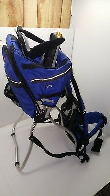 New Kelty Kids Backpack Carrier Town Trail Hiking Walking Baby Child Infant Blue