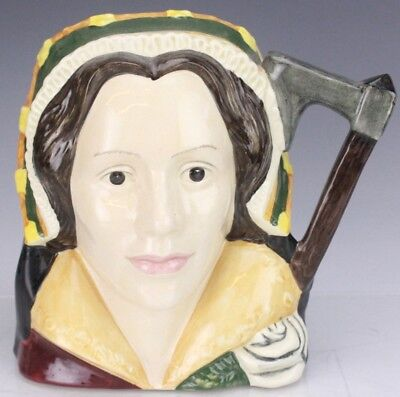 Retired Royal Doulton Catherine Howard D6645 Large Character Toby Jug Mug NR FTL