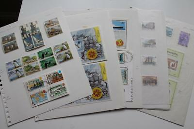 TRISTAN DA CUNHA Collection of QEII issues - Attractive Lot